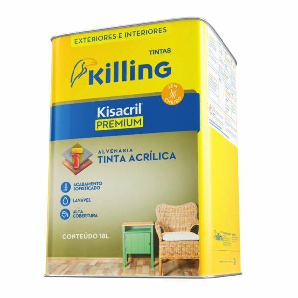Tinta Acrílica Premium Killing