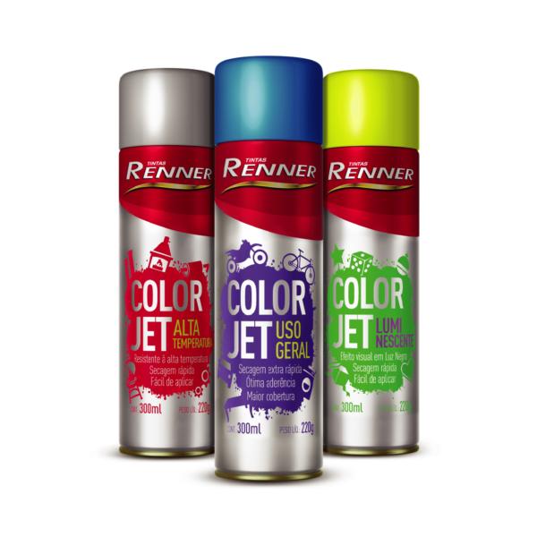 Tinta Spray Color Jet Renner